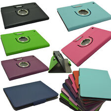 New 360° Rotating PU Leather Case Cover Stand For IPad 2/3/4