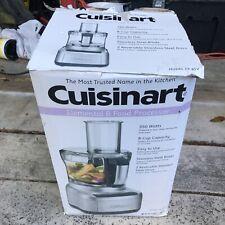 Cuisinart FP-8SV Elemental 8-Cup Food Processor 350W  Silver Vegetable Chopper
