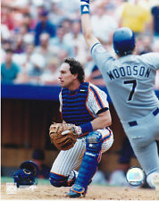 GARY CARTER NEW YORK METS HOF OFFICIAL MLB BASEBALL COLOR UNSIGNED 8X10 PHOTO