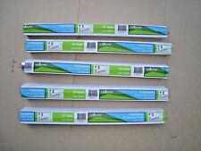 Triphosphor Fluorescent Tube.Lot of 5(V) 10watt 330mm long.cool white free post