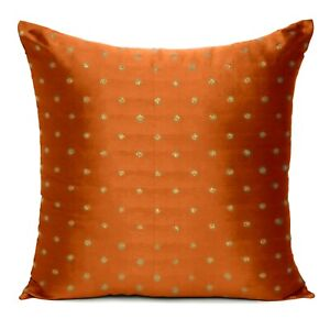Art Silk Indian Sofa Pillowcase Cushion Cover Throw Pillow Case Christmas Decor