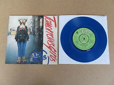 """U.K. SUBS Tomorrows Girls BLUE VINYL 7"""" RARE 1979 ORIGINAL UK A LABEL DEMO COPY"""