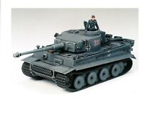 TAMIYA 35216 - 1/35 WWII DT. chars combat voiture VI Tiger I Exéc. E-NEUF