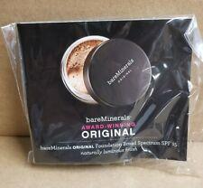 "bareMinerals Original Foundation SPF15 with Brush ""Medium Tan"" 0.01 Oz"