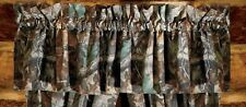 "Realtree Timber Advantage Camouflage Valance 88"" x 15"" Rustic Cabin Hunting"
