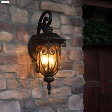 Front Porch Light Fixture Outdoor Deck Lamp Wall Mount Lantern Exterior Lighting