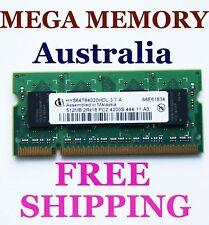Infineon 512MB DDR2-4200 Sodimm 533 LAPTOP Memory Ram