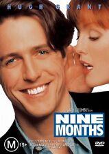 Nine Months (DVD, 2004) Hugh Grant PAL Region 4 🇦🇺Brand New Sealed
