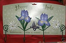 KEYHOOK, Coathook, Hanging Hook-----IRIS, Flowers