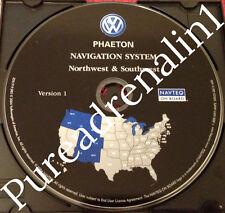 04 05 06 VW VOLKSWAGEN PHAETON V8 NAVIGATION MAP CD 2 AZ MT ID UT NM CO WY OR WA