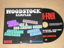 CD PROMO 5 TITRES / WOODSTOCK SAMPLER / TBE++++++++++++