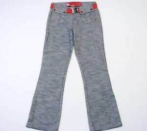 Eckored Girls Casual Pants With Belt Little Girls 6 Waist 22 NWT $42