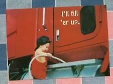 50 Postcards Little Lee Comic Trucking I'll Fill 'er Up