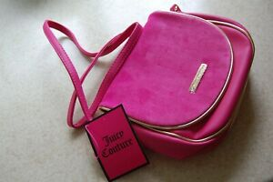 Juicy Couture Small Pink Crossbody Bag NEW BNWT