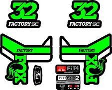 Fox FORK Stickers Decals Graphics Mountain Bike Down Hill MTB #b0113