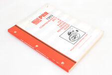 Movie Projection Belt Reference Guide Rare