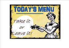 American Retro Stile Diner segno CAFE segno menu Retrò Segno CUCINA segno