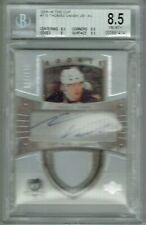 05-06 UD The Cup  Thomas Vanek  /199  Auto  Patch  Rookie  Beckett 8.5