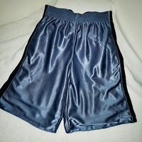 Rare Champion C9 Dazzle Basketball Shorts Shiny Silky Soft YL Mens Small Black B