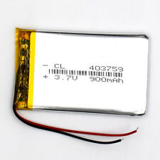 10pcs 403759 3.7V 900mAh Li-Polymer Rechargeable Battery Liion LiPo for GPS MP3