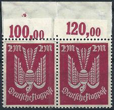 MiNr. 216b II vom Plattenoberrand postfrisch mit KURZBEFUND