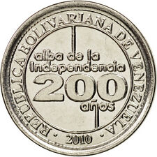 Monnaies, Venezuela, 25 Centimos, 2010, SPL, Nickel plated steel, KM:99 #98219