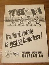 GUARESCHI GIOVANNINO - LIBRETTO PROPAGANDA ELETTORARE - P.M.I. 1953  16-91