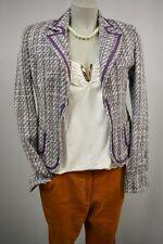 ONLY  Boucle   Blazer Jacke Gr. 36  Klassisch lila-weiß TOP