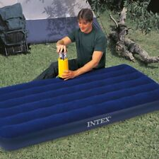 "NEW~Intex Twin 39""X 75"" X8.75"" Classic Downy Inflatable Airbed Mattr~4 Home/Camp"