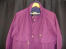 Helly Hansen Men's Burgundy Full Zip Nylon Jacket S Warm