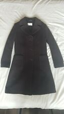 Ronit Zilkha Italian Brown Wool Fitted Coat. Size 12