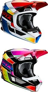 2020 Fox Racing V1 Yorr Helmet - Motocross Dirtbike Offroad Adult