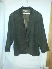 Leather One Button Blazers & Sport Coats for Men | eBay