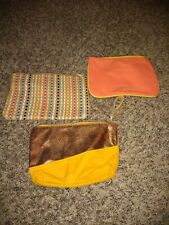 Set Of 3 Ipsy Make-up Bags