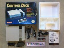 Nintendo Nes Control Deck Con Caja Box Pal ESPAÑA BUENA CONDICION 0006