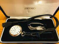 SEIKO Silver pocket watch Japan Airlines Collaboration difficult to get