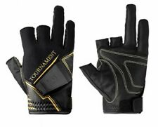 DAIWA DG-10009TW Winter Fishing 3-Cut Gloves Tournament Titanium Japan Tracking