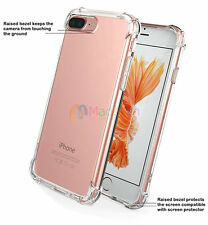 Vogue -MDWH Hybrid Rubber Shockproof Soft TPU Clear Cover Case For Call Phone