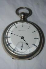 "Working 1870s WALTHAM ""American Watch Co."" 15 jewel pocket watch"