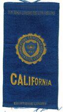 1910s S25 tobacco / cigarette / college silk University of California