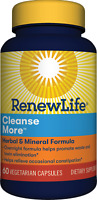Renew Life CleanseMore - 60 Capsules | Constipation Relief | Digestive Cleanse