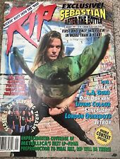 Rip Magazine Jan 1991 Skid Row LA Guns Quireboys Jetboy Dokken Slayer Vixen