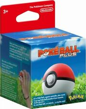 Poke Ball Plus for Pokemon Let's Go * Pikachu & Eevee Switch Game Nintendo *NEW