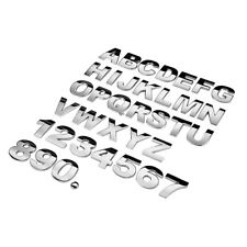 2018 3D Mirror car Sticker 26 Letters DIY Art Mural Home Room Decor metal Decals