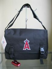 bagsclothesetc: NWT MLB Los Angeles Angels Messenger Bag - Black FREE SHIP