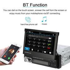 "7"" HD 1 DIN Car GPS Navigation Stereo MP5 Player Bluetooth Radio FM/USB /SD J9O5"