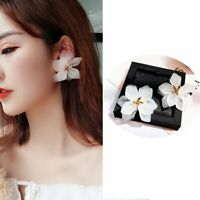 Charm Petals Large Flower Earrings Drop Dangle Women Jewelry Gift New Fashion