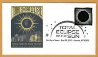 South Carolina State Museum. Columbia SC. Total Solar Eclipse of the Sun. FDC