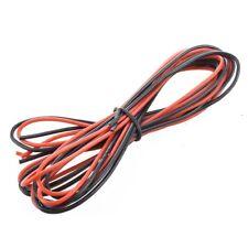 2x 3M Calibro 16 AWG gomma siliconica cavo flessibile Rosso Nero  A4U5