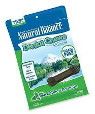 New listing Natural Balance Dental Chews Dog Treats, Grain Free Medium Fresh & Clean